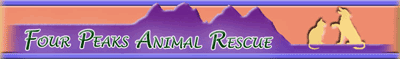 Four Peaks Animal Rescue - North Scottsdale Arizona Dog and Cat Rescue